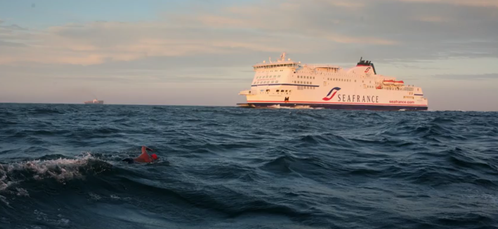 Doug McConnell swims English Channel