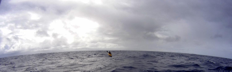 Doug McConnell swims Kaiwi channel swim photo